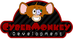 cyber monkey development logo