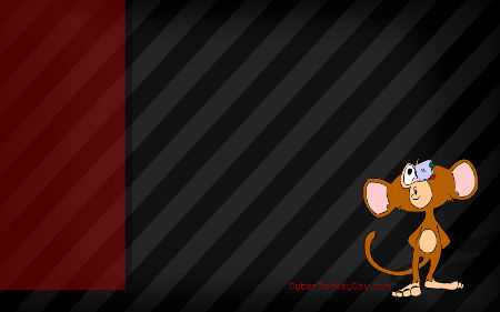 cyber monkey wallpaper design